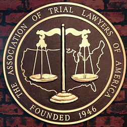 Bronze Logo Plaque - Association of Trial Lawyers of America