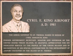Cyril E. King airport