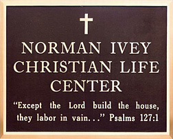 BronzeIDPlaque-ChristianLifeCenter